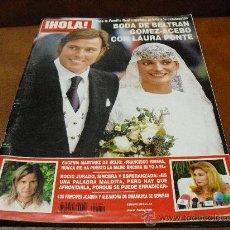 Coleccionismo de Revista Hola: REV.: HOLA 9/2004-BODA BELTRAN Y LAURA,ROCIO JURADO, CINEGRAMA,BODA CARLO PONTI JR.. Lote 26904183