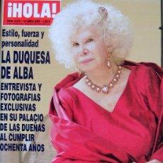 Coleccionismo de Revista Hola: REVISTA ¡ HOLA ! Nº 3.219 - ABRIL 2006 . Lote 27400241
