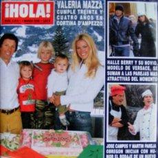 Coleccionismo de Revista Hola: REVISTA ¡ HOLA ! Nº 3.213 MARZO 2006. Lote 27516953