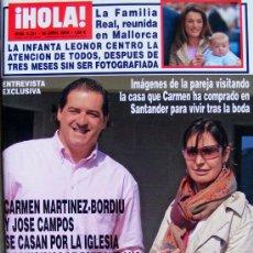 Coleccionismo de Revista Hola: REVISTA ¡ HOLA ! Nº 3.221 ABRIL 2006. Lote 27516978