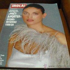 Coleccionismo de Revista Hola: REV. HOLA PRET-A-PORTER OTOÑO-INVIERNO 1998-1999.- PORT.LAURA PONTE,NIEVES ALVAREZ,ESTHER CAÑADAS. Lote 27517028