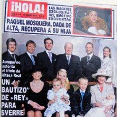 Coleccionismo de Revista Hola: REVISTA ¡ HOLA ! Nº 3.215 MARZO 2006. Lote 27517134