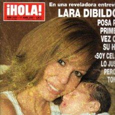 Coleccionismo de Revista Hola: REVISTA ¡HOLA! Nº 3271· 11 ABRIL 2007 - EN PORTADA: LARA DIBILDOS (164 PÁGINAS). Lote 28132316