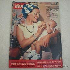 Coleccionismo de Revista Hola: REVISTA HOLA Nº 1049 OCTUBRE 1964_CARMEN SEVILLA EN PORTADA. Lote 28200731