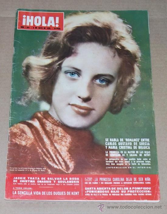 REVISTA HOLA / MAYO 1970. (Coleccionismo - Revistas y Periódicos Modernos (a partir de 1.940) - Revista Hola)