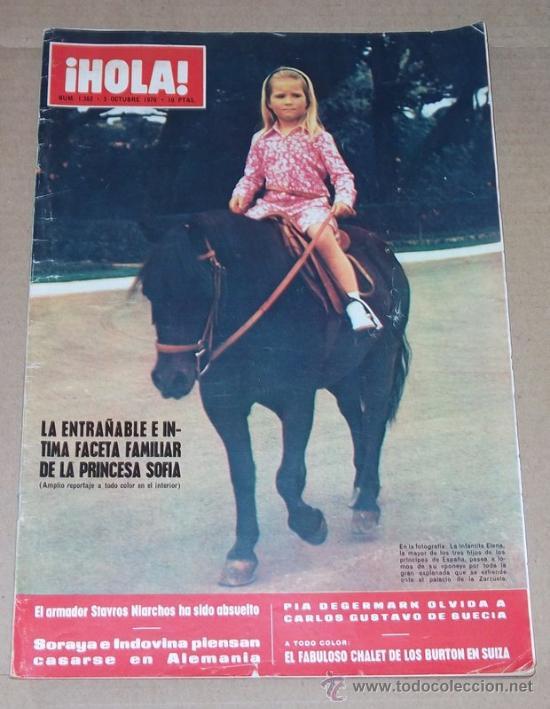 REVISTA HOLA / OCTUBRE 1970. (Coleccionismo - Revistas y Periódicos Modernos (a partir de 1.940) - Revista Hola)
