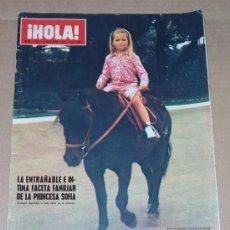 Coleccionismo de Revista Hola: REVISTA HOLA / OCTUBRE 1970.. Lote 28495451