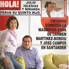 Coleccionismo de Revista Hola: REVISTA ¡HOLA ! Nº 3.248 NOVIEMBRE 2006. Lote 28563601