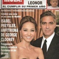 Coleccionismo de Revista Hola: REVISTA ¡HOLA ! Nº 3.249 NOVIEMBRE 2006. Lote 28563678