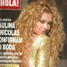 Coleccionismo de Revista Hola: REVISTA ¡HOLA ! Nº 3.251 NOVIEMBRE 2006. Lote 28563701