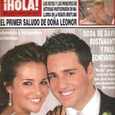 Coleccionismo de Revista Hola: REVISTA ¡HOLA ! Nº 3.235 AGOSTO 2006. Lote 28564090