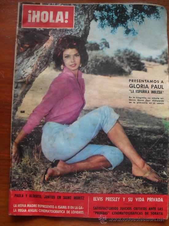 REVISTA HOLA Nº 970, 20 DE MARZO DE 1963, ELVIS PRESLEY Y SU VIDA PRIVADA (Coleccionismo - Revistas y Periódicos Modernos (a partir de 1.940) - Revista Hola)