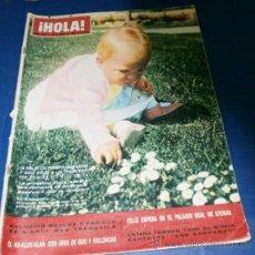 Coleccionismo de Revista Hola: REVISTA - HOLA - Nº 1076 ABRIL 1965. EN PORTADA -LA PRINCESITA ELENA. Lote 29128025