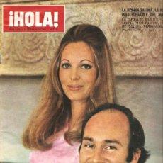 Coleccionismo de Revista Hola: REVISTA ¡ HOLA ! Nº 1.378 ENERO 1971. Lote 29189800