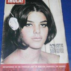 Coleccionismo de Revista Hola: REVISTA - HOLA - Nº 1067 FEBRERO 1965-PORTADA LA HIJA DE MARIA MONTEZ. Lote 29210795
