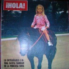 Coleccionismo de Revista Hola: HOLA Nº 1362 -3 OCTUBRE 1970. Lote 29291329