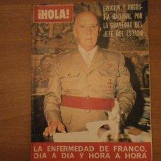 Coleccionismo de Revista Hola: REVISTA HOLA ,Nº 1628-8 DE NOVIEMBRE 1975- . Lote 29524273