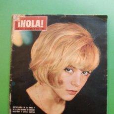 Coleccionismo de Revista Hola: HOLA Nº 1078 24 ABRIL 1965 SYLVIE VARTAN JOHNNY HALLYDAY INSTANTANEAS DE LA BODA Y LUNA DE MIEL. Lote 29556529