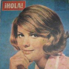 Coleccionismo de Revista Hola: REVISTA HOLA AÑOS 60 CLAUDIA CARDINALE. Lote 29678242