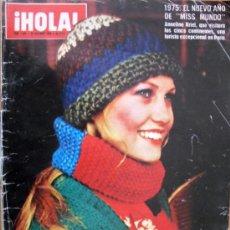 Coleccionismo de Revista Hola: ¡HOLA! Nº1583-28 DIC 1974-GALA INAGURAL TEMPORADA DEL LICEO-MONACO NIEGA LA ENFERMEDAD DE GRACIA . Lote 29737701