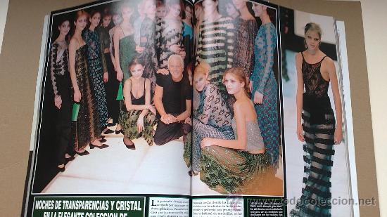 Coleccionismo de Revista Hola: &REV. HOLA ESPECIAL PRêT-A-PORTER .OTOÑO/INVIERNO./1997/1998./JUDIT MASCO.. - Foto 2 - 30075794