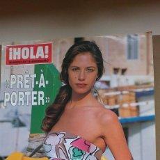 Coleccionismo de Revista Hola: &REV. HOLA ESPECIAL PRÊT-A-PORTER .PRI-VERANO./2.002./MARTINA KLEIN.. Lote 30075712
