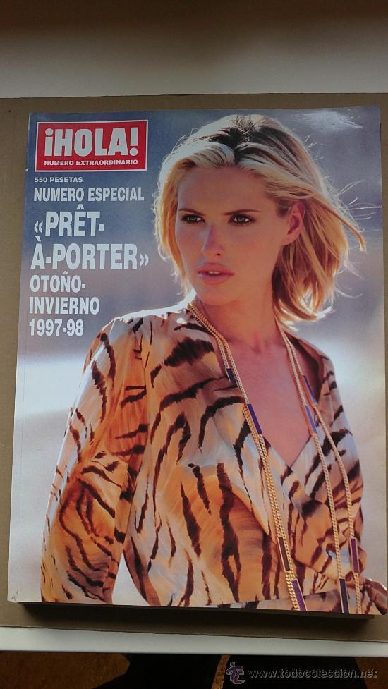 &REV. HOLA ESPECIAL PRÊT-A-PORTER .OTOÑO/INVIERNO./1997/1998./JUDIT MASCO.. (Coleccionismo - Revistas y Periódicos Modernos (a partir de 1.940) - Revista Hola)