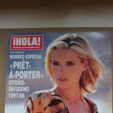 Coleccionismo de Revista Hola: &REV. HOLA ESPECIAL PRÊT-A-PORTER .OTOÑO/INVIERNO./1997/1998./JUDIT MASCO... Lote 30075794