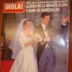 Coleccionismo de Revista Hola: HOLA Nº2642 1995. Lote 30146377