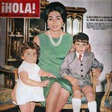 Coleccionismo de Revista Hola: REVISTA ¡ HOLA ! Nº 1.100 SETIEMBRE DE 1965. Lote 30204425