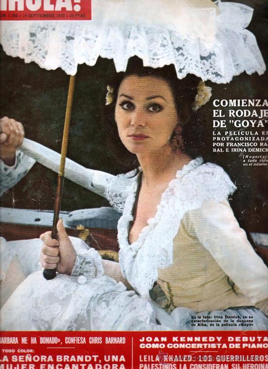 REVISTA ¡ HOLA ! Nº 1.360 SETIEMBRE DE 1970 (Coleccionismo - Revistas y Periódicos Modernos (a partir de 1.940) - Revista Hola)