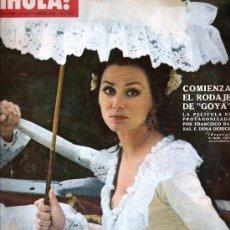 Coleccionismo de Revista Hola: REVISTA ¡ HOLA ! Nº 1.360 SETIEMBRE DE 1970 . Lote 30241208