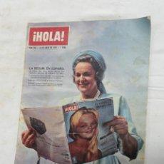 Coleccionismo de Revista Hola: REVISTA HOLA - LA BEGUM EN ESPAÑA -. AÑO 1963.. Lote 30303900