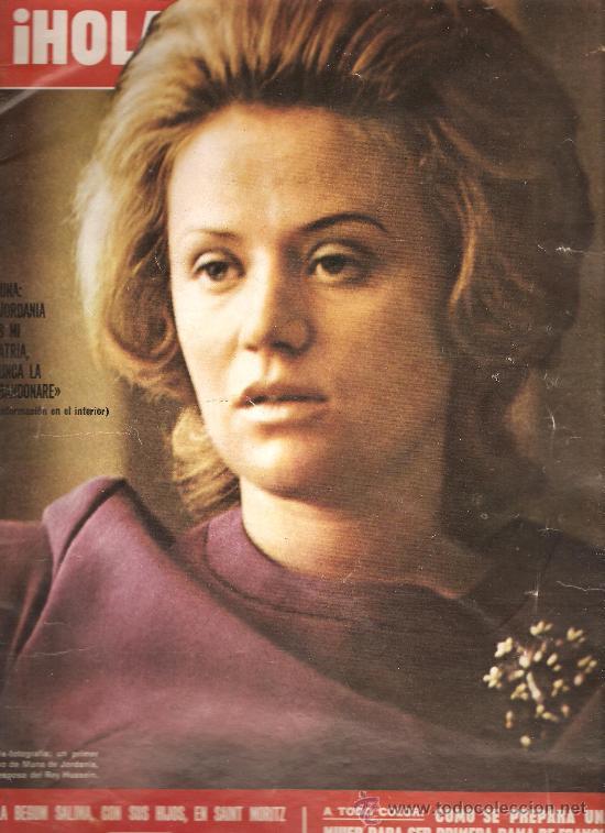 REVISTA ¡ HOLA! Nº 1481 ENERO DE 1973 (Coleccionismo - Revistas y Periódicos Modernos (a partir de 1.940) - Revista Hola)