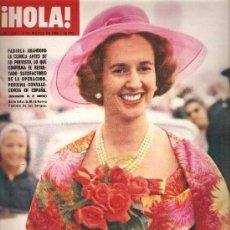 Coleccionismo de Revista Hola: REVISTA ¡ HOLA ! Nº 1.229 MARZO DE 1968. Lote 30329429