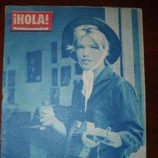 Coleccionismo de Revista Hola: HOLA REVISTA ANTIGUA Nº 837, AÑO 1960. Lote 30333654