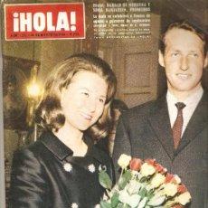 Coleccionismo de Revista Hola: REVISTA ¡ HOLA ! Nº 1.231 MARZO DE 1968. Lote 30607658