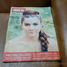 Coleccionismo de Revista Hola: REV. HOLA 1/1966 ROMINA POWER/AMPLIO RPTJE.TONY CURTIS,GINA LOLLOBRIGIDA,PETER SELLERS.. Lote 30892360