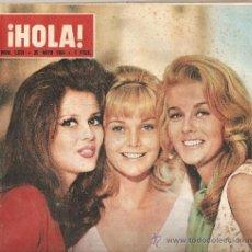 Coleccionismo de Revista Hola: REVISTA ¡ HOLA ! Nº 1.031 MAYO DE 1964 . Lote 30941388