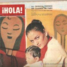 Coleccionismo de Revista Hola: REVISTA ¡ HOLA ! Nº 1.004 NOVIEMBRE DE 1963. Lote 30941403