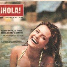 Coleccionismo de Revista Hola: REVISTA ¡ HOLA ! Nº 982 JUNIO DE 1963 . Lote 30941431