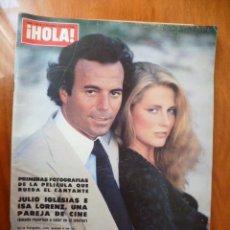 Coleccionismo de Revista Hola: REVISTA - HOLA -16 DE DICIEMBRE, AÑO 1978 / Nº 1790. Lote 30943734