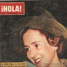 Coleccionismo de Revista Hola: REVISTA ¡ HOLA ! Nº 976 MAYO DE 1963. Lote 30957572