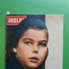 Coleccionismo de Revista Hola: ¡HOLA! Nº 1.108 20 NOVIEMBRE 1965 SARA MONTIEL - JOHNNY Y SYLVIE VARTAN EN LA GALA REAL DE LONDRES. Lote 30962074