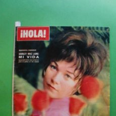 Coleccionismo de Revista Hola: ¡HOLA! Nº 1.172 11 FEBRE 1967 SHIRLEY MAC LAINE - MARISOL - FESTIVAL DE SAN REMO. Lote 30968176