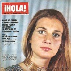 Collectionnisme de Magazine Hola: REVISTA ¡ HOLA ! Nº 1.338 ABRIL DE 1970. Lote 30984753