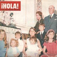 Coleccionismo de Revista Hola: REVISTA ¡ HOLA ! Nº 1.115 ENERO DE 1966 . Lote 30984862