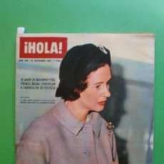 Coleccionismo de Revista Hola: ¡HOLA! Nº 996 28 SEPTIEMBRE 1963 AURORA BAUTISTA - BRIGITTE BARDOT - SOFIA LOREN . Lote 30985674