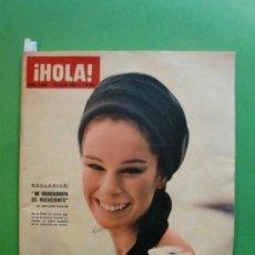 Coleccionismo de Revista Hola: ¡HOLA! Nº 1.038 18 JULIO 1964 GERALDINE CHAPLIN - JOHNNY HALLYDAY - AUDREY HEPBURN Y MEL FERRER. Lote 30987727