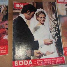 Coleccionismo de Revista Hola: HOLA, MARZO 1974. Lote 30989278